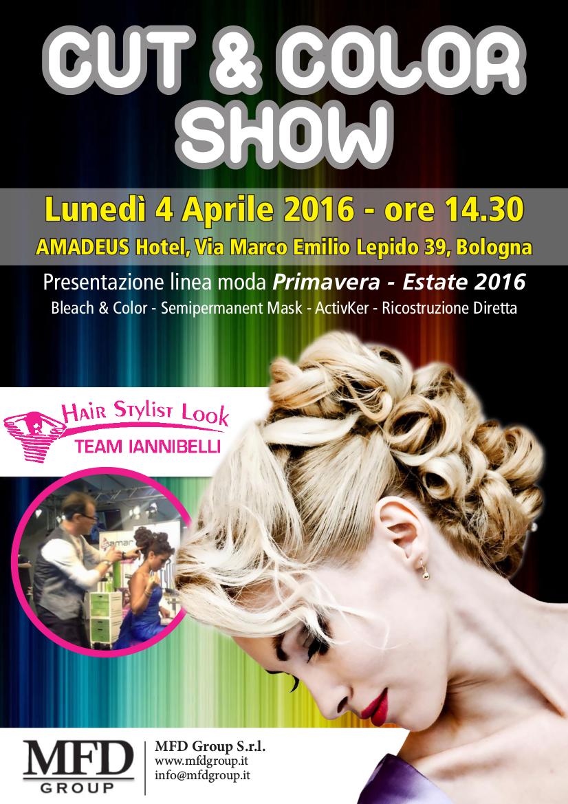 Cut and color show. Evento formazione parrucchieri.